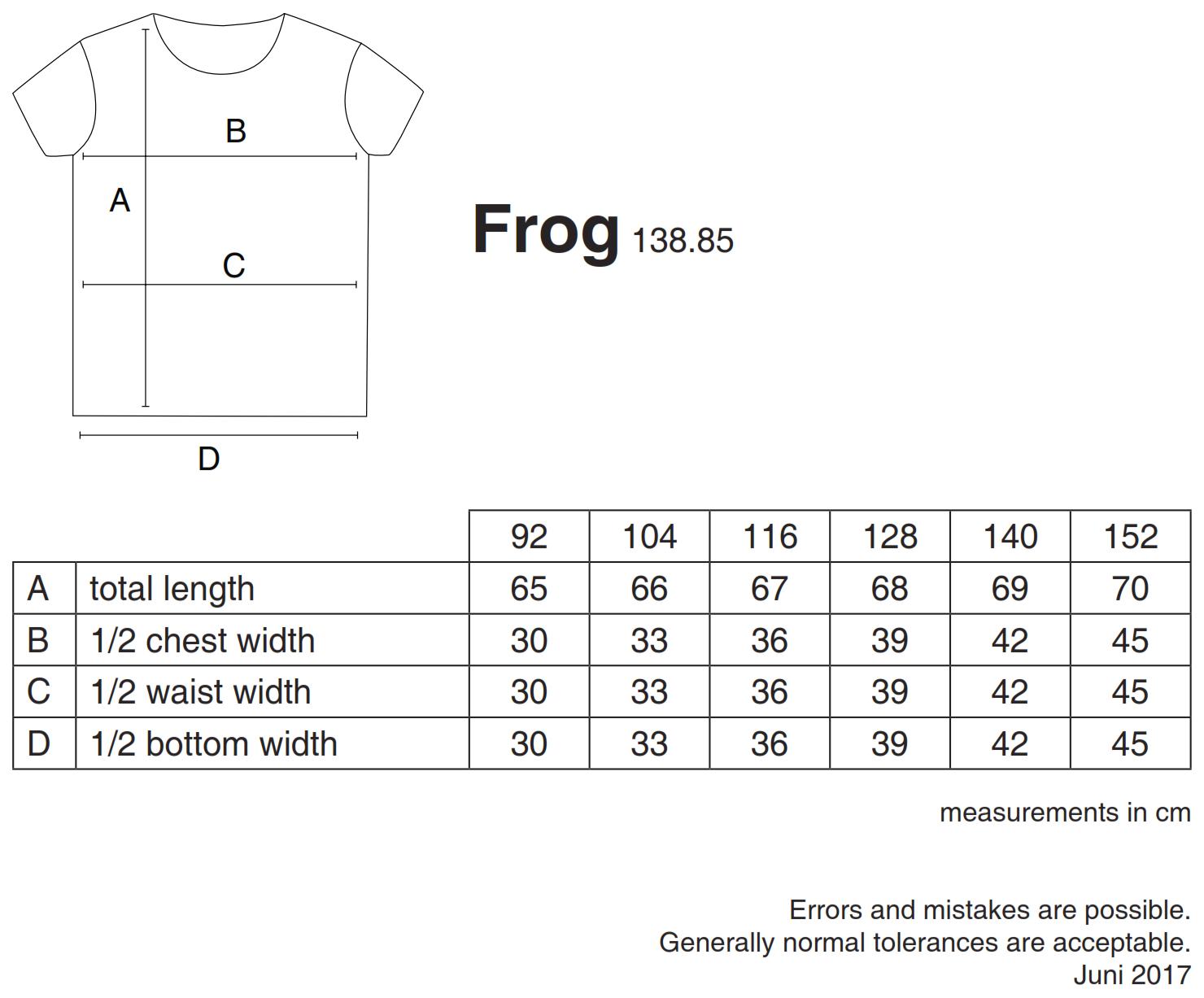 nakedshirt: Frog Kid`s Organic Favorite T-Shirt TK-SSL-R-OG002