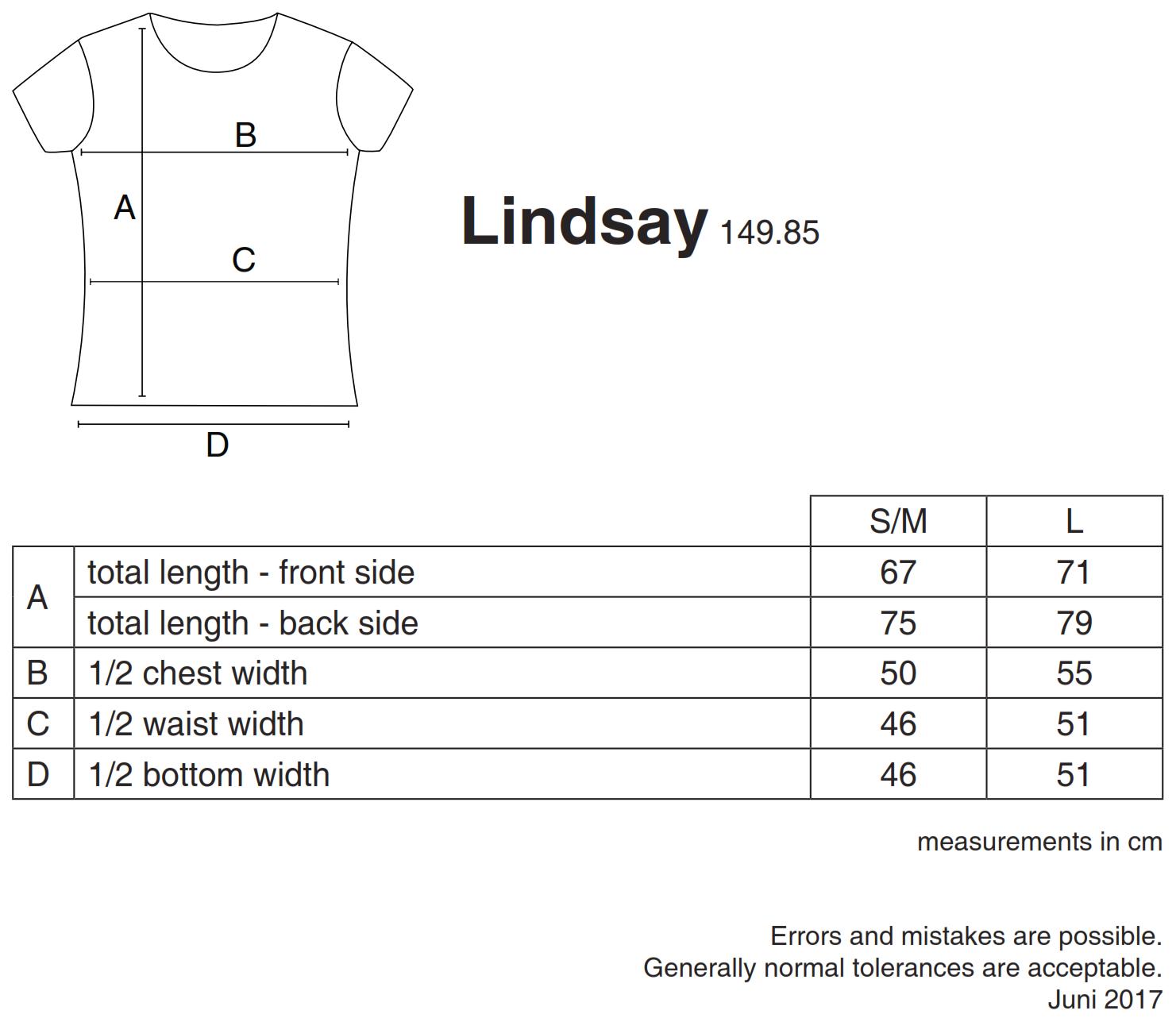 nakedshirt: Lindsay Women`s Loose Fashion T-Shirt TF-RL-O-BL127