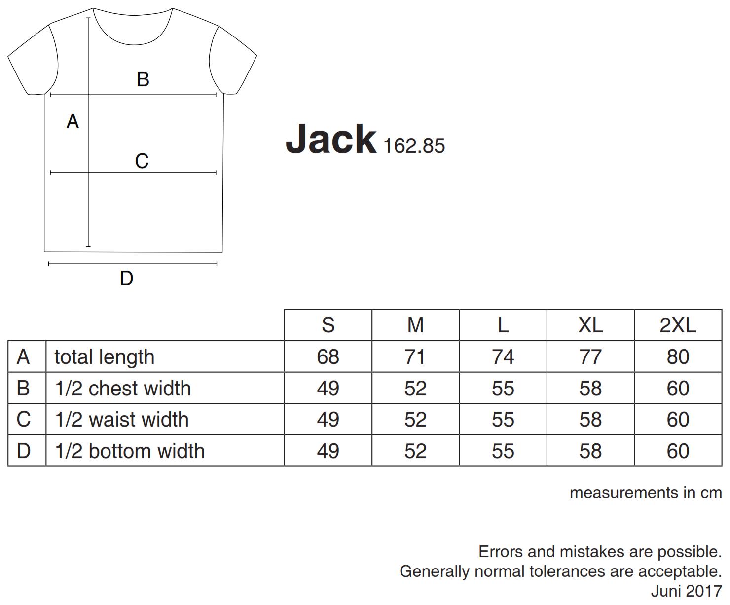 nakedshirt: Jack Men`s Viscose-Cotton T-Shirt TM-SSL-R-BL017