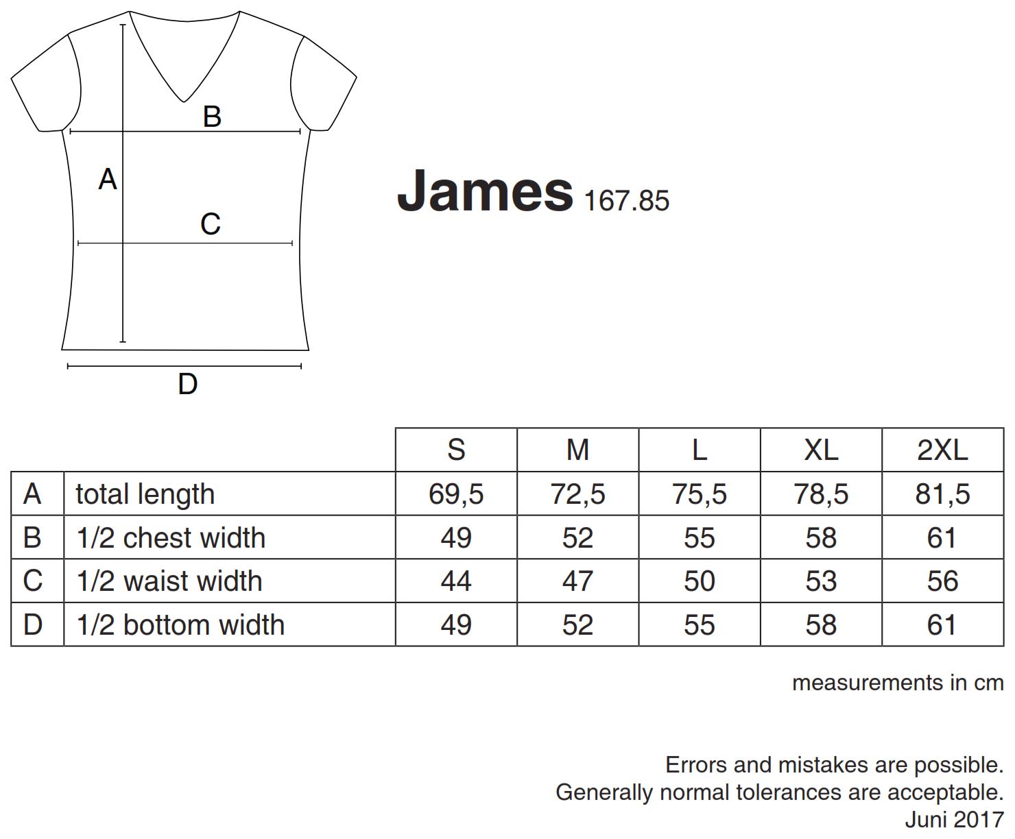 nakedshirt: James Men`s Organic V-Neck T-Shirt TM-SSL-V-OG018