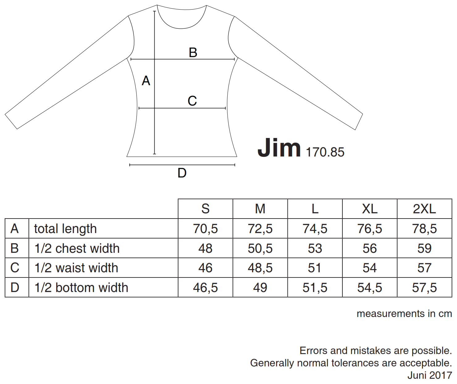 nakedshirt: Jim Men`s Organic Longsleeve TM-LSL-R-OG014