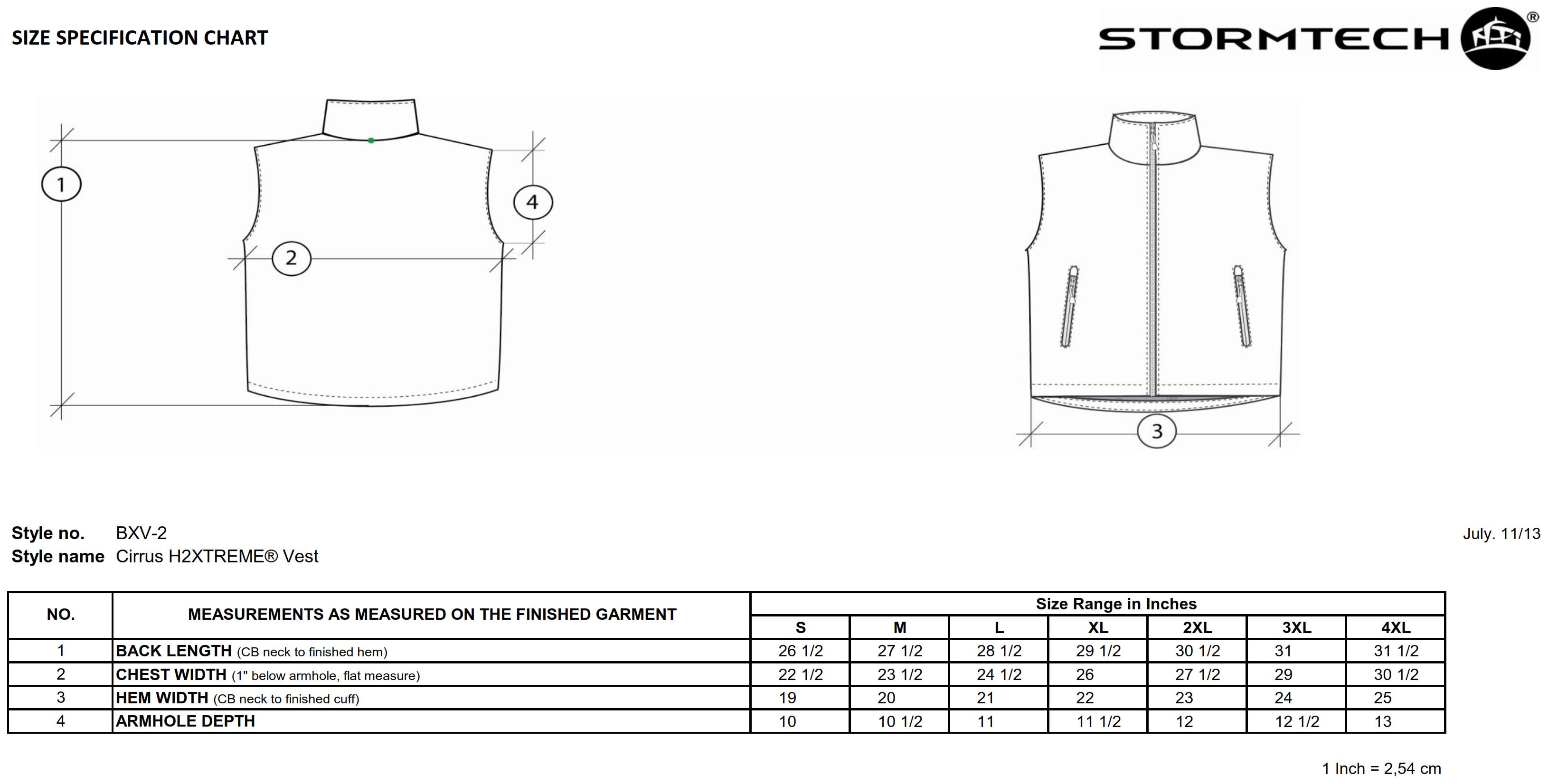 StormTech: Cirrus H2XTREME Vest BXV-2