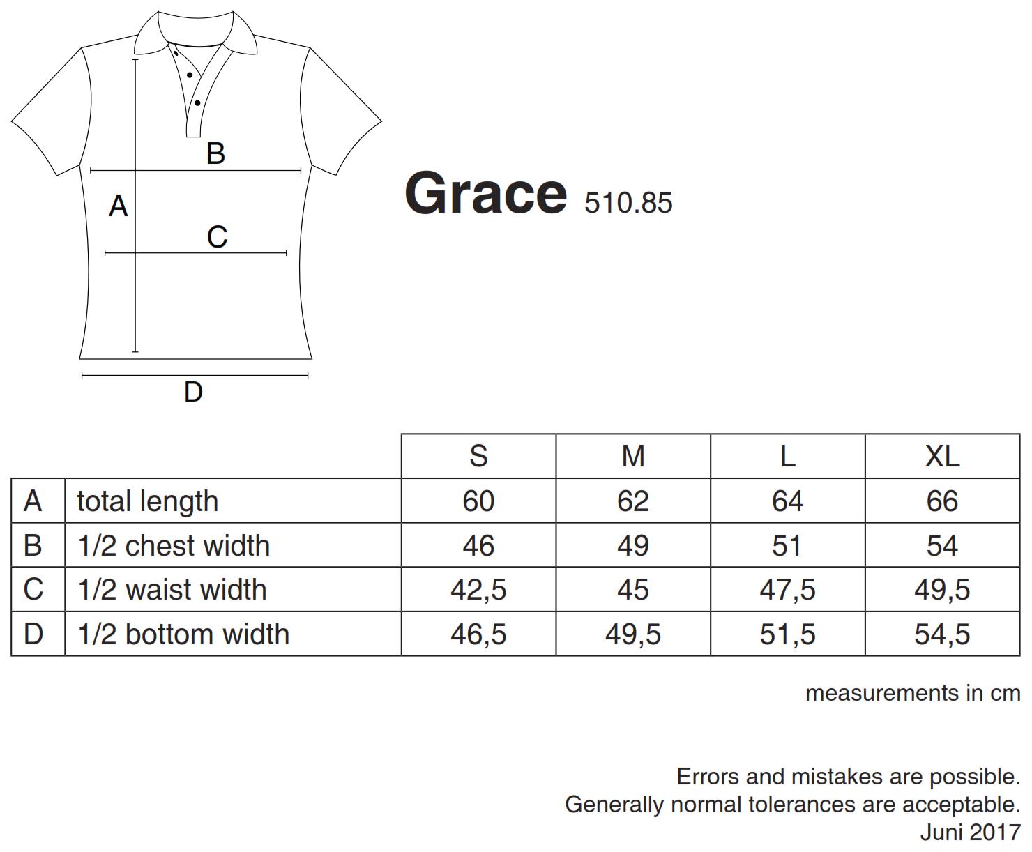 nakedshirt: Grace Women`s Viscose-Cotton Pique-Polo PF-SSL-B-BL220