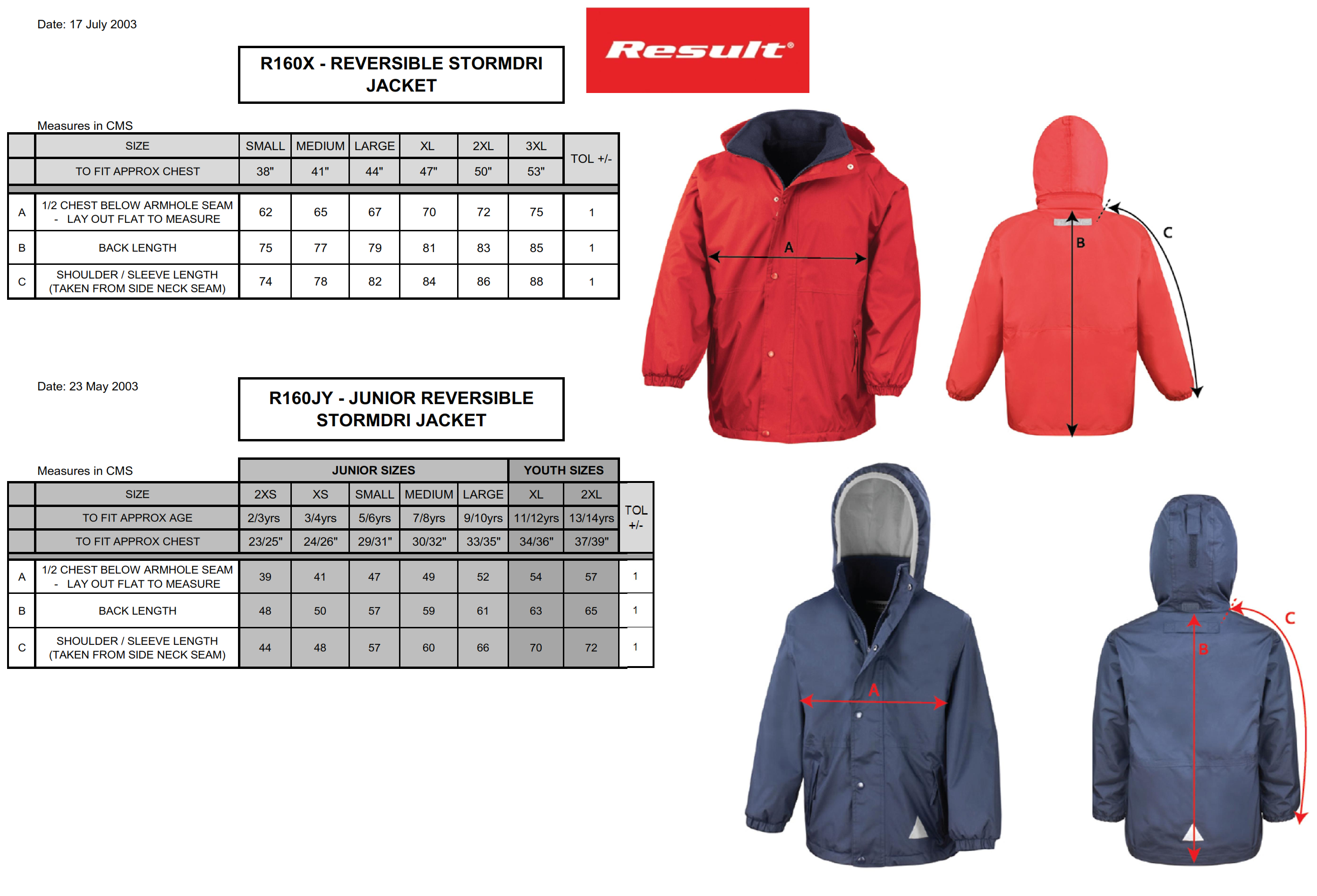 Result: Outbound Reversible Jacket R160X